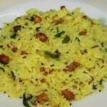 Nimbe chitranna or Lemon rice