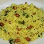 Nimbe chitranna or Lemon rice