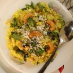 Onion or kanda poha (Avalakki) recipe