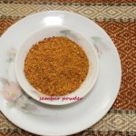 Sambar powder or sambar masala
