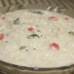 Curd rice or mosaranna or thayir sadam recipe