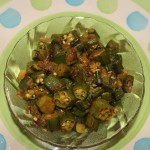 Bendekai palya or bhindi fry or okra subzi recipe