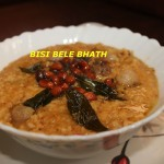Bisi bele bhath or Bisi bele huliyanna recipe