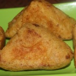 Cheese bread pakora