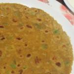 Capsicum paneer paratha recipe