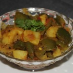 Potato capsicum or aloo shimla mirch recipe