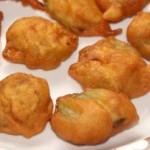 Heerekai or ridgegourd bajji (pakoda) recipe