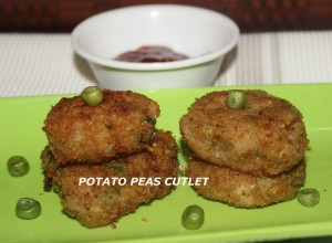 potato peas cutlet2