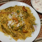 Tendli/masale bhaat or Ivy gourd rice