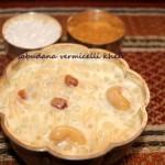 Sabudana seviyan kheer or Sago pearls vermicelli kheer recipe