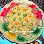 Vegetable oats upma recipe – healthy breakfast recipes