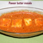 Paneer makhani or paneer butter masala recipe