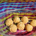 Til or sesame seeds ladoo or til gul ladoo recipe
