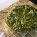 Aloo or alu palak curry recipe