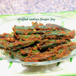 Stuffed lady's finger or stuffed bhindi (okra) recipe