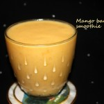 Mango banana smoothie recipe