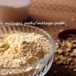 Idli-dosa milagai podi or molaga podi or chutney powder recipe