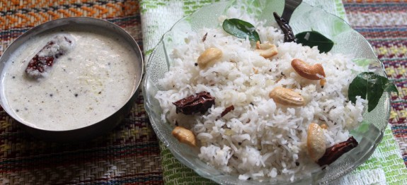 how to cook coconut rice in tamil
