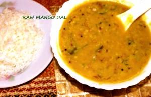 raw mango dal1