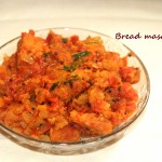 Bread masala recipe