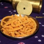 Butter murukku – Diwali festival recipe