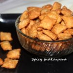 Spicy shakarpara or shankarpali recipe – easy diwali sweet recipe