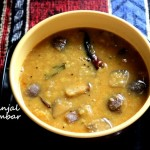 Brinjal sambar recipe – Quick and easy sambar recipe