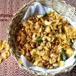 Cornflakes mixture or chivda recipe – Easy and healthy South Indian Diwali snack