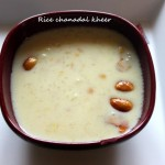 Rice and chanadal kheer recipe