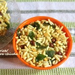 Spicy puffed rice/murmura chivda recipe