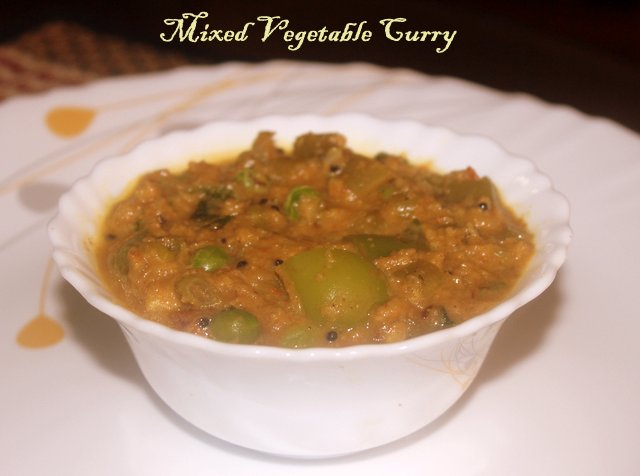 mixed curry