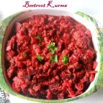 Beetroot kurma recipe