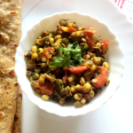 Sprouted green moong sabzi recipe