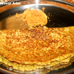 Broken wheat or dalia adai recipe – a healthy breakfast recipe