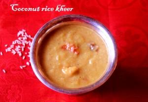 coconut rice kheer2