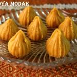 Khoya/mawa modak recipe … Ganesh chaturthi special sweet/mithai