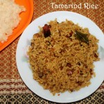 Tamarind rice recipe – How to make tamarind rice or puliyodharai recipe