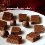 Homemade chocolate recipe- diwali festival recipe