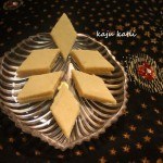 Kaju katli or kaju katri or kaju barfi recipe – diwali sweets recipe