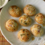 Masala paniyaram or paddu or  kuzhi paniyaram recipe – snacks recipe