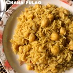 Chana pulao recipe – how to make kabuli chana pulao or chole pulao recipe