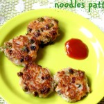 Noodles patties recipe – kids snacks recipe- noodles recipes