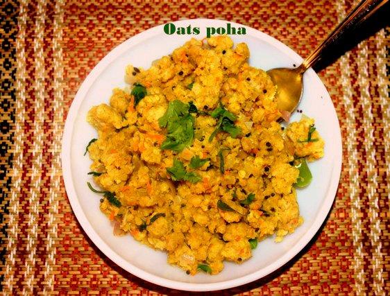 oats poha