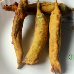 Chilli bajji or mirchi bajji recipe – how to make mirchi bajji recipe