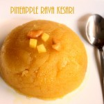 Pineapple kesari recipe – how to make pineapple rava kesari recipe