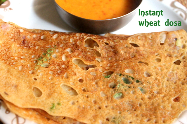 Instant wheat dosa how to make south indian godhumai dosa also called as godhuma means wheat dosa in tamil nadu it is a popular south indian breakfast dish which is not only simple but easy to make forumfinder Choice Image