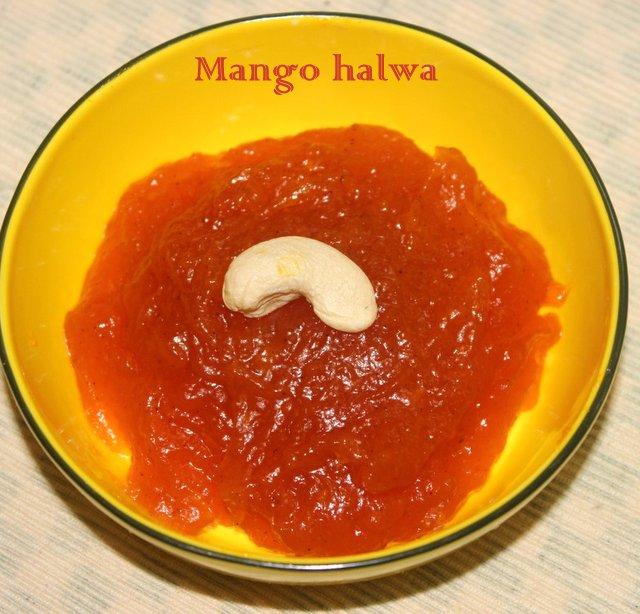 mango-halwa