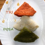Tri coloured dosa recipe – Independence day special recipe