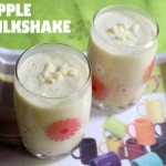 Apple milkshake recipe – How to make apple milkshake recipe