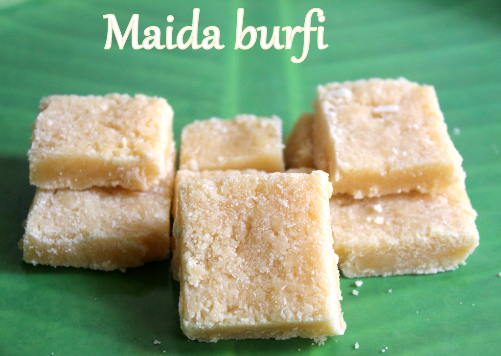 Maida burfi recipe how to make maida burfibarfi recipe diwali maida burfi is a delicious quick and simple barfi made with all purpose flour ghee and sugar it is soo yummy that it just melts in your mouth forumfinder Images